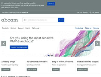Thumbshot of Abcam.com
