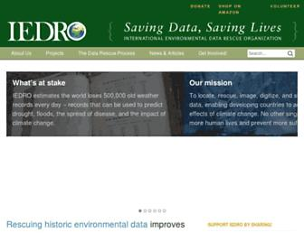 iedro.org screenshot