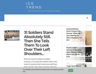 Thumbshot of Icetrend.com
