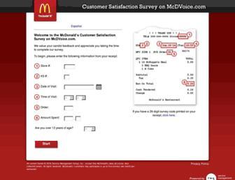 Thumbshot of Mcdvoice.com