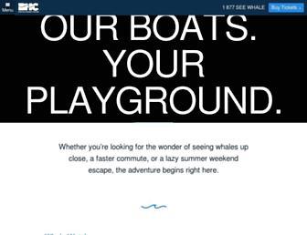 Thumbshot of Bostonharborcruises.com