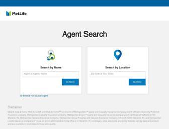 agents.metlife.com screenshot