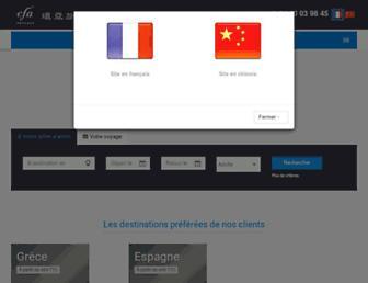 cfavoyages.fr screenshot