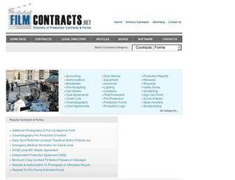 filmcontracts.net screenshot