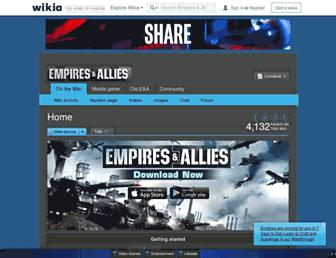 empiresandallies.wikia.com screenshot