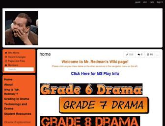 mrredman.aisdtigers.wikispaces.net screenshot