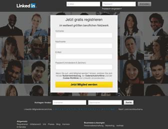 at.linkedin.com screenshot
