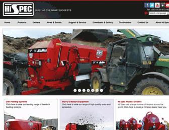 hispec.net screenshot