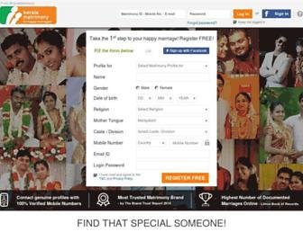 Thumbshot of Keralamatrimony.com