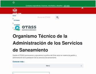 otass.gob.pe screenshot