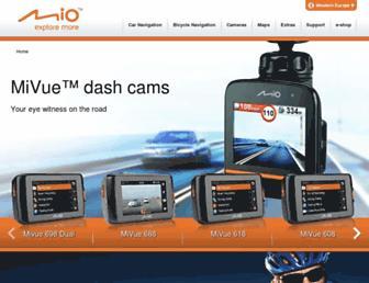 eu.mio.com screenshot