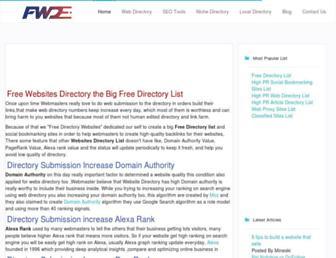 Thumbshot of Freedirectorywebsites.com