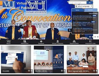 Thumbshot of Vu.edu.pk