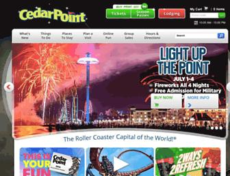 Thumbshot of Cedarpoint.com