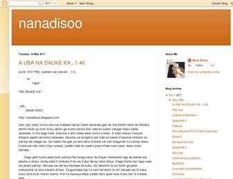 nanadisoo.blogspot.com screenshot