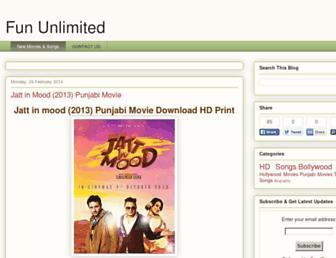 thefununlimited.blogspot.com screenshot