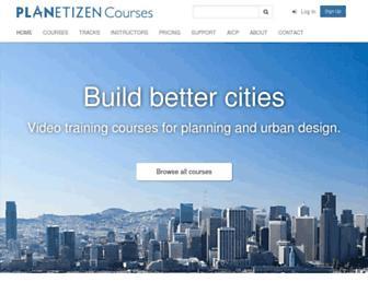 courses.planetizen.com screenshot