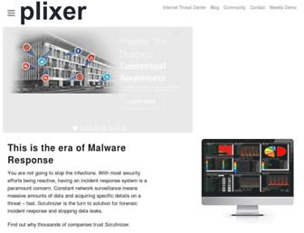 plixer.com screenshot
