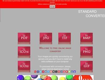 image.convertstandard.com screenshot