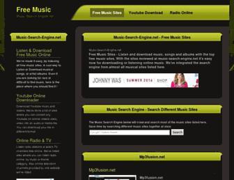 music-search-engine.net screenshot