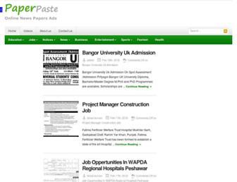 Thumbshot of Paperpaste.com