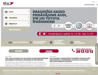 bta.lv screenshot