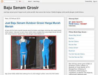 bajusenamgrosir.blogspot.com screenshot