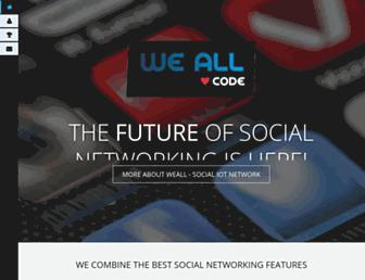 weall.com screenshot