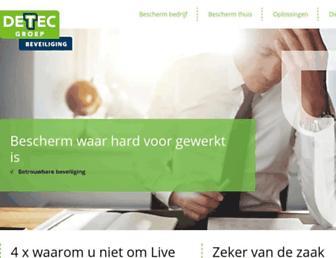 detec.nl screenshot