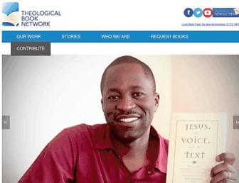 theologicalbooknetwork.org screenshot