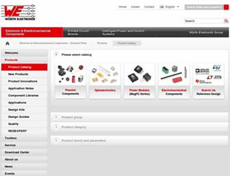 katalog.we-online.de screenshot