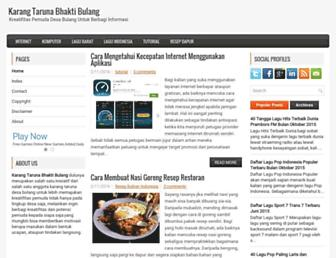 karangtarunabhaktibulang.blogspot.com screenshot