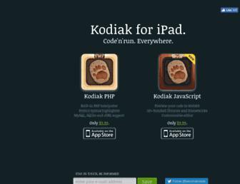 becomekodiak.com screenshot