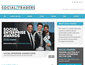 socialtraders.com.au screenshot