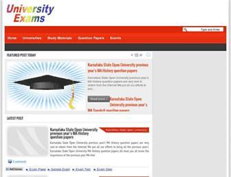university.examsavvy.com screenshot