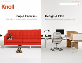knoll.com screenshot