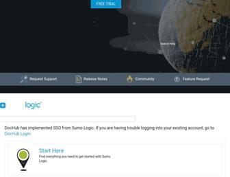 help.sumologic.com screenshot