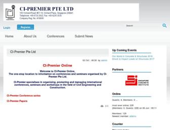cipremier.com screenshot