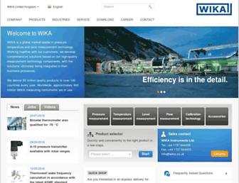 wika.co.uk screenshot