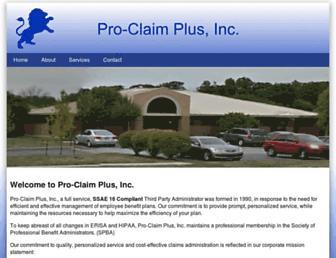 proclaimplus.com screenshot