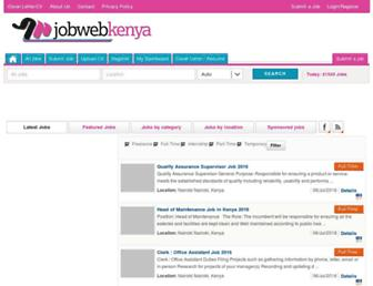 jobwebkenya.com screenshot