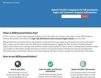 billpaymentonline.org screenshot