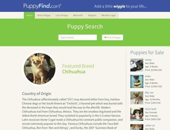 Thumbshot of Puppyfind.com