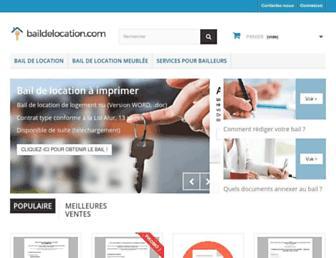 baildelocation.com screenshot