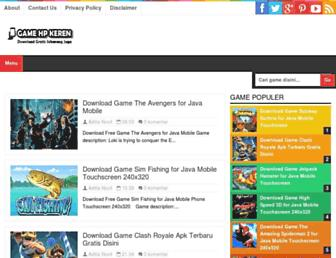 gamehpkeren.blogspot.com screenshot