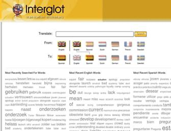 Thumbshot of Interglot.com