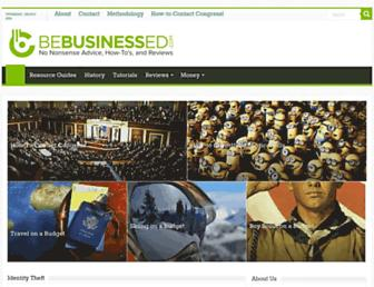 bebusinessed.com screenshot