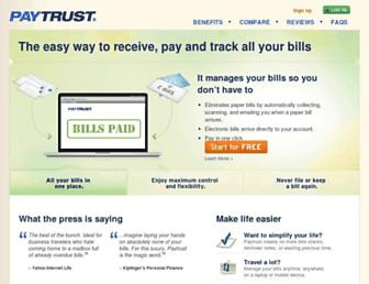 Thumbshot of Paytrust.com