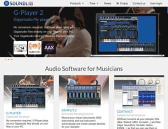 soundlib.com screenshot