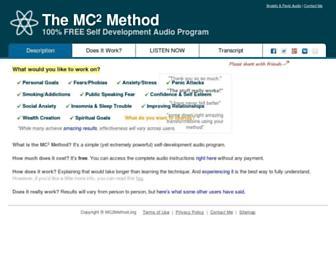 mc2method.org screenshot
